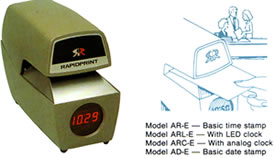 automatic time date st machine