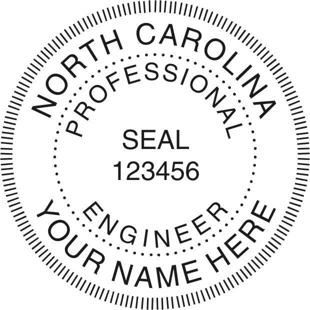 Professional Architect Engineer Land Surveyor Stamps Seals
