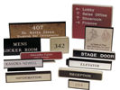 Engraved/ Architectural Signs