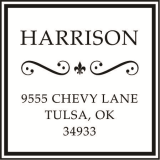 CS-10014 - Designer Address - Square
