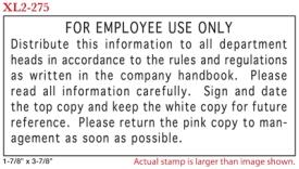 FLASH_275 - Flash Stamp<BR><font color=red>Sample Impression