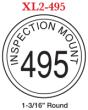 FLASH_495 - Flash Stamp<BR><font color=red>Sample Impression
