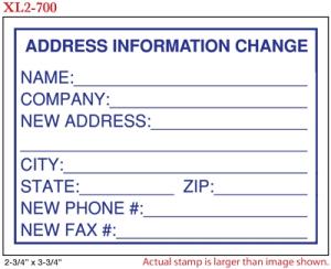 FLASH_700 - Flash Stamp<BR><font color=red>Sample Impression